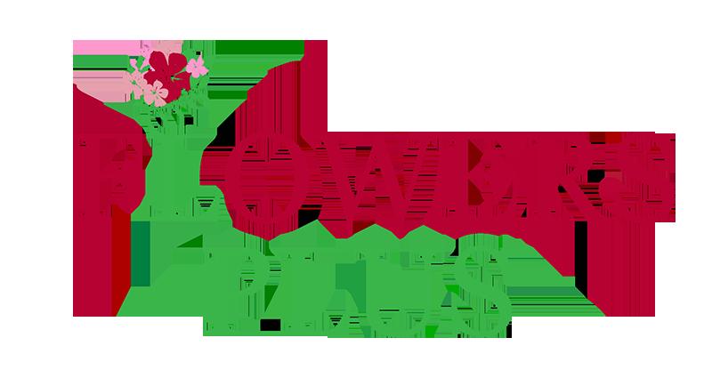 Логотип магазина цветов
