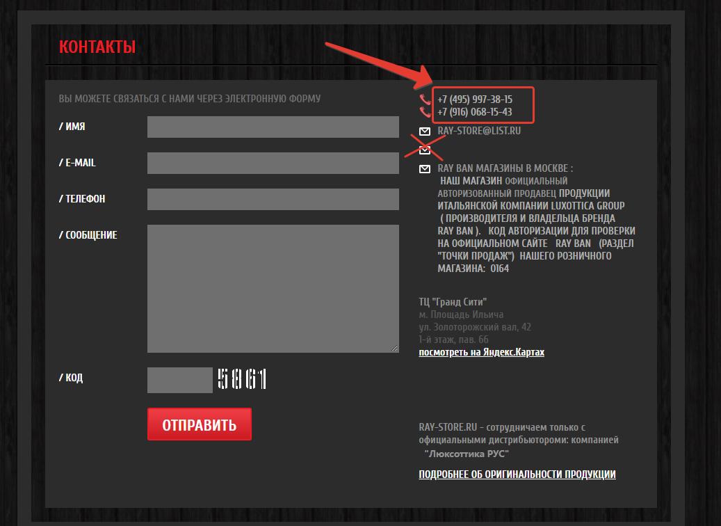 Пример комплексного аудита сайта